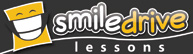 small smiledrive lesson driving school logo